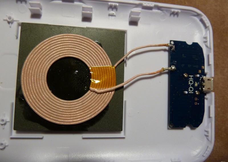 Беспроводная зарядка своими руками из зарядника 35